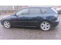 Mazda 3 sports (Full year Mot)