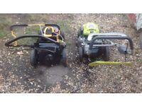 2 brand new lawn mowers