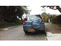 2002 Honda CRV 4x4 Automatic, blue good condition and very reliable