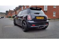 """One of a kind """"Mini Cooper s"""" ( JCW extra's) Part exchange ..R1...Cbr1000rr...Gsxr750-1000"""