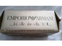 Armani She Eau De Parfum 50mls - SEALED
