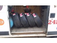 225 40 18 brand new tyres free fitting and balancing