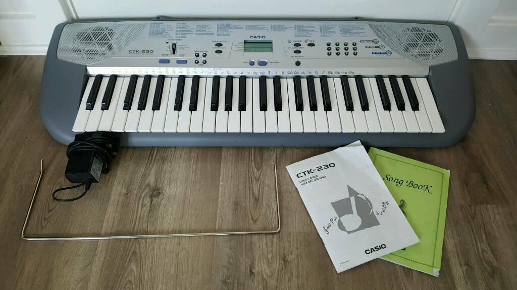 Casio CTK - 230 keyboard, as new condition