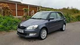 Skoda Fabia 1.6 TDI CR DPF Elegance 5dr *** Full Service High Spec £20 Tax