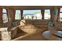 Spacious 8 berth caravan available for long or short term rental at Crimdon Dene, Blackhall