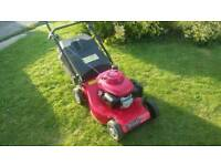 Petrol lawnmower (honda)
