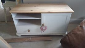 Shabby Chic Tv unit stand cupboard