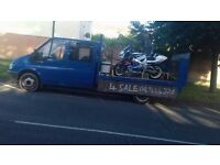 Ford Transit Crew Cab, flat bed pick-up with tail lift, very low mileage