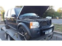 2008 Land Rover Discovery 3 2.7 TDV6 Black Leather 7 Seats