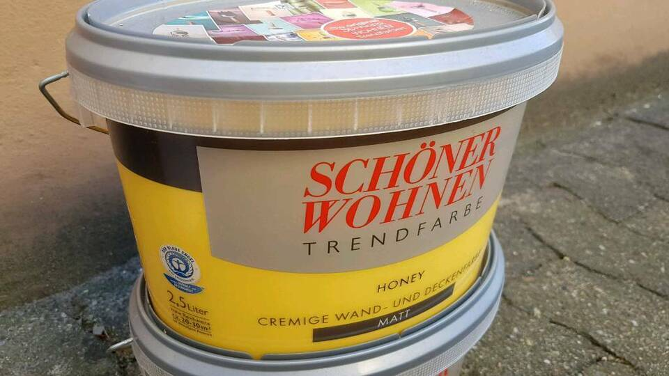 NEU!!! Schöner Wohnen Farbe Honey matt