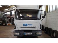 Iveco 75E17 Curtainside Truck
