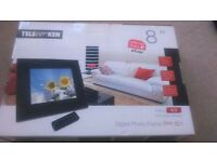 "Telefunken 8"" digital photo frame DPF821"