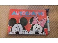 Disney Autograph Book and Pen -New still in wrapper.