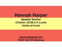 GCSE-A level-Adult Native Spanish Tuition