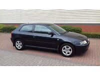 Audi A3 Sport 1.6 petrol with One Year mot and full service history