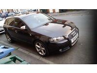 Audi A3 Cheap Diesel Remapped FSH S3/RS3/S Line Replica Black not VXR Vw Golf Corsa Bmw Astra