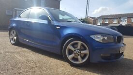 BMW 120D SE Coupe, Diesel, Manual, Lady Owner, New Battery, Full Service History, Immaculate.