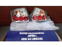 AUDI A4 8E 01-04 CHROME TAIL LIGHT - NEW