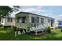 8 berth caravan 3 bedrooms to rent/hire on Waterside Leisure Park Ingoldmells