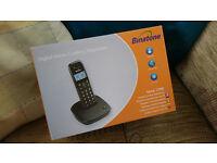 Binatone Veva 1700 Dect Black Cordless Phone in Original Packaging