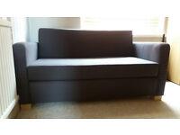 IKEA ULLVI TWO SEAT SOFA BED 140 x 77 CM - VERY GOOD CONDITION - £35