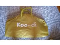 Koo-Di Pop Up Travel Bubble Cot and Inflatable Mattress