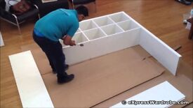 FLAT PACK ASSEMBLY, PROFESSIONAL PROMPT SERVICE, ALL TYPES OF FLAT PACK, ALL AREAS, 7 DAY SERVICE.