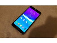 Samsung Galaxy Note 4, Unlocked in very good condition