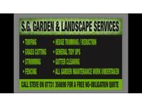 S.G Gardening & Landscaping services