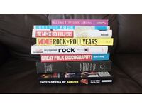 8 MUSIC RELATED ENCYCLOPEDIA BOOKS