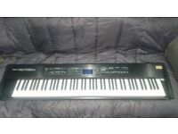 Roland RD700SX 88-note stage piano with SRX cards and flightcase