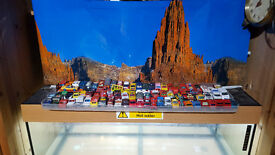collectables vintage cars good condiction some not 83 cars inthere