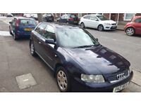 2001 Audi A3 needs MOT