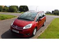 CITROEN C4 PICASSO 1.6 GRAND VTR PLUS HDIAUTO,7 SEATER,2008,Alloys,Air Con,Cruise Control,Very Clean