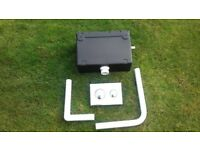 Concealed Cistern and Dual Flush Push Button