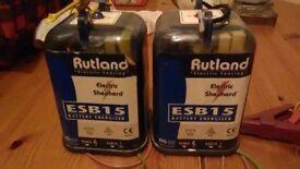 Two Rutland Energisers