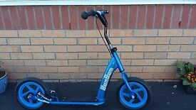 Blue boys scooter, was £50 at xmas