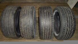 215/45/17 ZR MOHAWK M112 TYRES FREE FOR COLLECTION