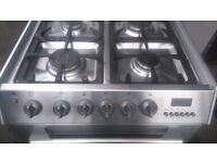 Cannon 60cm stainless steel gas cooker