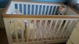 Lulworth mothercare cot bed