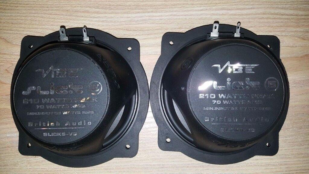 Vibe Slick 5 car door speakers