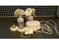 Philips Avent manual and electric single breast pump