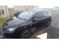 2011 (62) Seat Ibiza 1.2 Petrol - Metallic Black - 58.5K Mileage - MOT Till Feb 2019