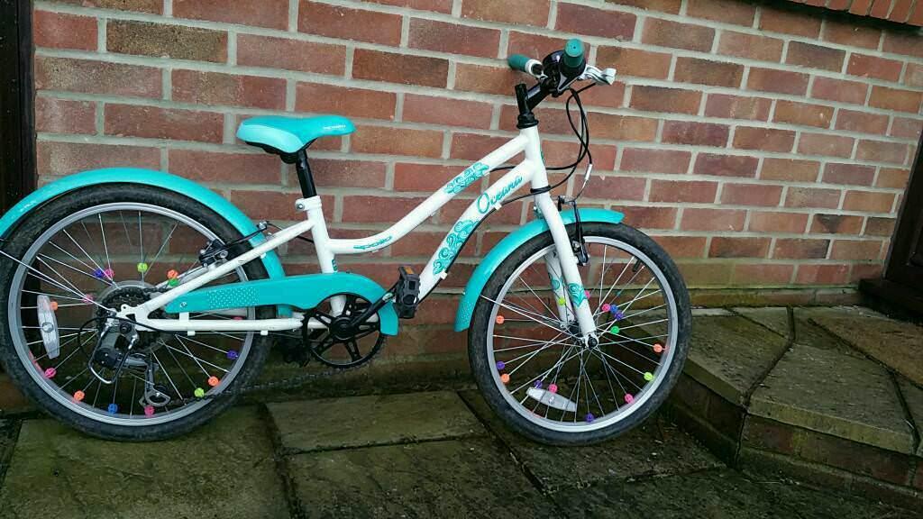 Apollo Oceana Girls Mountain Bike 6 Speed 20 Quot Inch Whee In