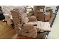 Ex-Display HSL Linton Riser Recliner Chair, Free Delivery