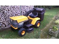 PARTNER 1295E RIDE ON TRACTOR MOWER, 38 INCH CUT, 12 HORSE POWER BRIGGS AND STRATTON ENGINE