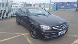 2010 MERCEDES BENZ CLC220 CDI AUTOMATIC SPORT COUPE FULL MOT 3 MONTH WARRANTY **FINANCE AVAILABLE**