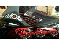 K2 moto 84 boa inline skates size 11 BARGAIN