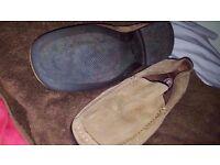 Loafer Shoes Mens Tan Slip On Base London Size UK 9 43