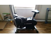 2 in 1 fitness cross trainer/excersise bike